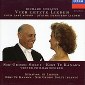 Strauss: Four Last Songs, Lieder, etc / Te Kanawa, Solti