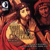 Bach: Three Weimar Cantatas / Joshua Rifkin, Bach Ensemble