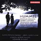 Hummel: Mandolin & Trumpet Concerto, etc / Shelley, et al