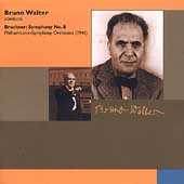 Bruckner: Symphony no 8 / Walter, Philharmonic SO