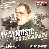 The Film Music of Dmitri Shostakovich Vol 2 / Sinaisky