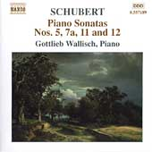 Schubert: Piano Sonatas no 5, 7a, 11 and 12 / Wallisch