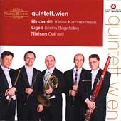 Hindemith, Ligeti, Nielsen: WInd Quintets / Vienna Quintet