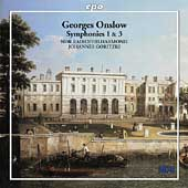 Onslow: Symphonies 1 & 3 / Goritzki, NDR Radiophilharmonie