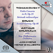 Tchaikovsky: Violin Concerto in D;  Bruch / Grumiaux
