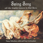 Barns: Swing Song and other Treasures / Schechter, Lewis