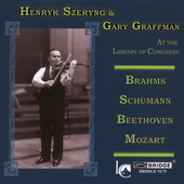 Library of Congress Vol 22 / Szeryng, Graffmann