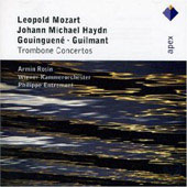 Mozart L: Trombone Concerto/Gouingene: Trompete Concertos