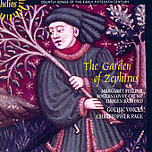 The Garden of Zephirus - Courtly Songs / Page, Gothic Voices