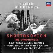 Shostakovich: The Symphonies/ Ashkenazy, et al