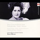 Opera Arias / Anna Tomowa-Sintow, Kurt Masur, et al