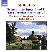 Sibelius: Sc&egrave;nes historiques 1 and 2, etc / Inkinen, et al