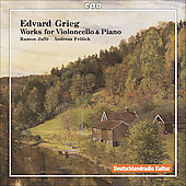 Grieg: Works for Violoncello and Piano / Jaffé, Fröligh