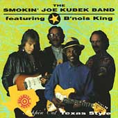 Smokin' Joe Kubek/The Smokin' Joe Kubek Band: Steppin' Out Texas Style