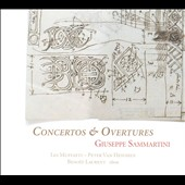 Sammartini: Concertos for strings and basso continuo; Overtures