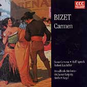 Eterna Collection - Bizet: Carmen - Selections / Kegel, Cervena, Apreck, et al