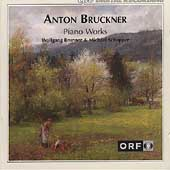 Bruckner: Piano Works / Wolfgang Brunner, Michael Schopper