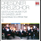 Dresden Childrens' Choir / Sacred Music for a Whole Year / 4 CDs