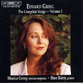 Grieg: Complete Songs Vol 2 / Monica Groop, Ilmo Ranta