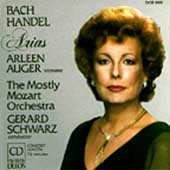 Bach, Handel: Arias / Auger, Schwarz, Mostly Mozart Orch
