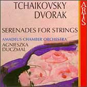 Tchaikovsky, Dvor&#225;k: Serenades for Strings /Duczmal, Amadeus