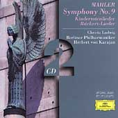 Mahler: Symphony no 9, Lieder / Karajan, Ludwig, Berlin PO