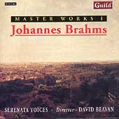 Masterworks 1 - Brahms / Beavan, Serenata Voices