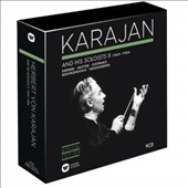 Karajan and His Soloists, Vol. 2 (1969-1984): Concerto Recordings / Richter, Oistrakh, Rostropovich, Mutter, Galway