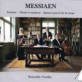 Messiaen: Fantasie, for violin & piano; Theme & Variations for violin & piano; Quarter for the End of Time / Christine Pryn, violin; Viktor Wennesz, clarinet; Oystein Sonstad, cello; Kristoffer Hyldig, piano