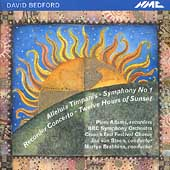 Bedford: Alleluia Timpanis, Symphony no 1, etc / Brabbins