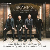 Brahms: String Quartets, Op. 51 Nos. 1 & 2 / New Orford String Quartet