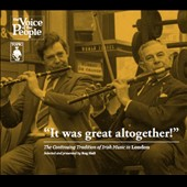Various Artists: It Was Great Altogether! The Continuing Tradition of Irish Music in London [Slipcase]