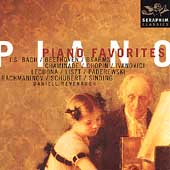 Piano Favorites - Rachmaninov, Debussy, et al / Revenaugh