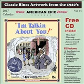 Various Artists: Classic Blues Artwork From the 1920s Calendar 2016