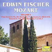 Mozart: Piano Concerto no 25, etc / Edwin Fischer