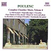 Poulenc: Complete Chamber Music Vol 4