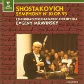 Shostakovich: Symphony no 10 / Mravinsky, Leningrad PO