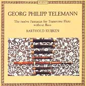 Telemann: 12 Fantasias for Flute without Bass / Kuijken