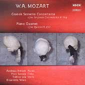 Mozart: Grande Sestetto Concertante, etc / Frolich, et al