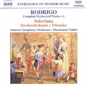 Anthology of Spanish Music - Rodrigo: Orchestral Works Vol 1 / Valdès, et al