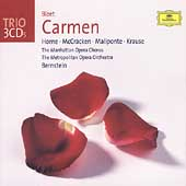 Trio - Bizet: Carmen / Bernstein, Horne, Baldwin, et al