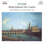Spohr: String Quintets no 5 and 6 / Papp, Haydn Quartet