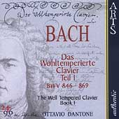 Bach: The Well-Tempered Clavier Book I / Ottavio Dantone