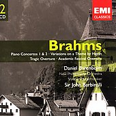 Gemini - Brahms: Piano Concertos, etc / Barenboim