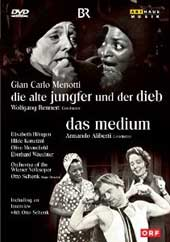 Menotti: The Old Maid And The Thief / Rennert, Hongne, Moorefield, Konetzni [DVD]