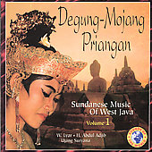 Various Artists: Degung-mojang Priangan: Sudanese Music of West Java, Vol. 1