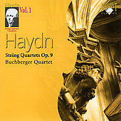 Haydn: String Quartets Complete Vol 1 / Buchberger Quartet
