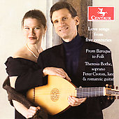 Love Songs from Five Centuries / Bothe, Croton