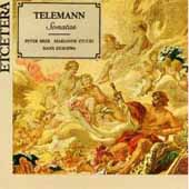 Telemann: Sonatas / Peter Bree, Marianne Stucki