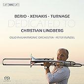 Dedicated to Christian Lindberg - Berio, Xenakis, Turnage